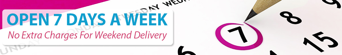 Delivery Every Day Of The Week