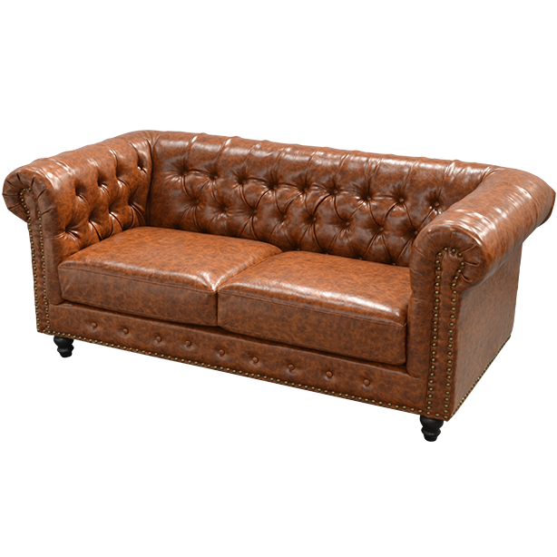 Chesterfield Sofa Brown