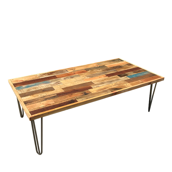 Bodrum Pallet Coffee Table Hire