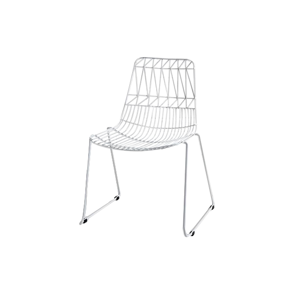 Simplicity Wire Chair Hire London