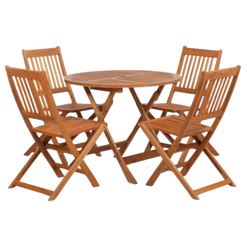 Rent Teak Garden Set London