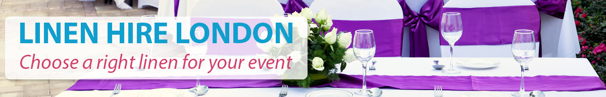 Linen hire table linen rental chair hire london for Furniture hire london