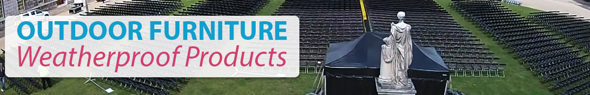 Outdoor furniture hire rent furniture for outdoor events for Outdoor furniture london